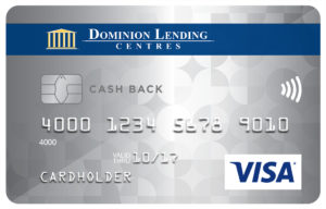 Dominion Lending Centres Collabria Visa* Cash Back Card