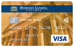 Dominion Lending Centres Collabria Visa* Centra Gold Card