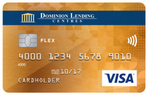 Dominion Lending Centres Collabria Visa* Flex Card