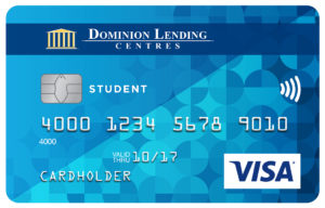 Dominion Lending Centres Collabria Visa* Student Card