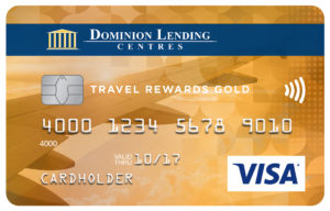 Dominion Lending Centres Collabria Visa* Travel Rewards Gold Card