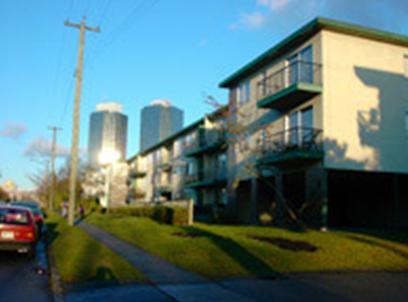 Burnaby apartment building