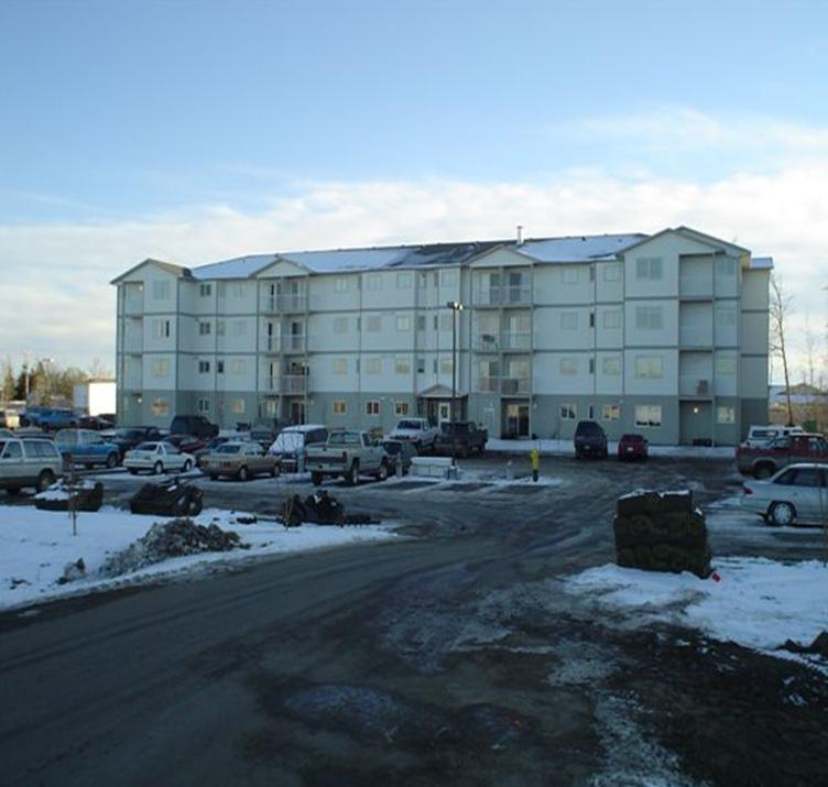 Apartment complex in Fort St. John's British Columbia