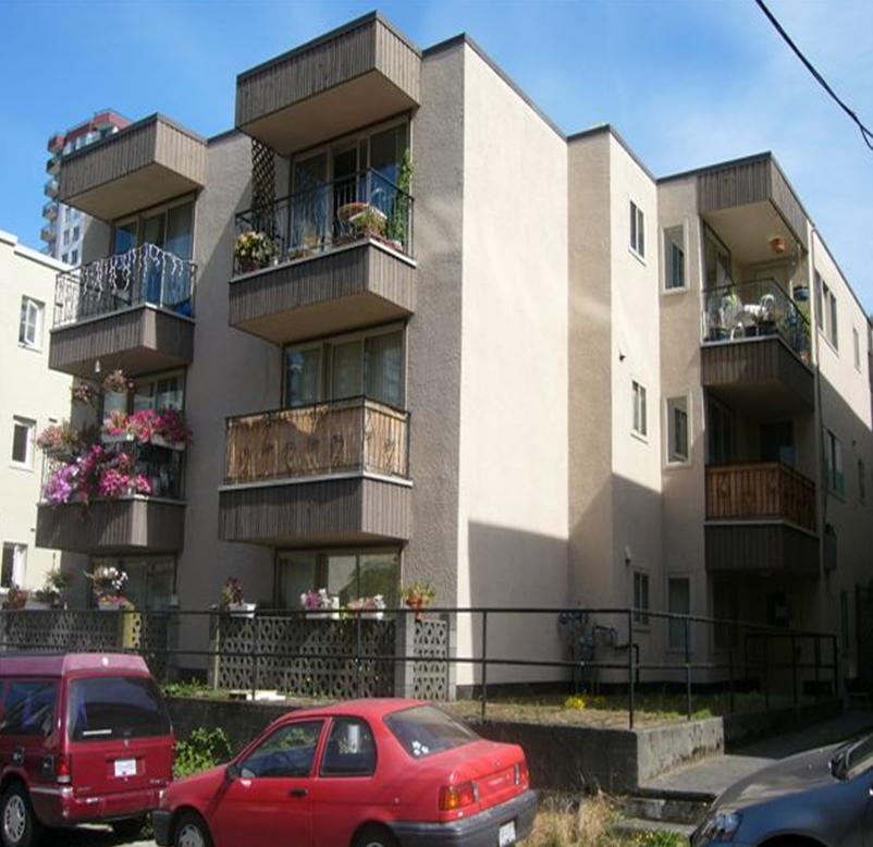 Second mortgage financing provided for apartment building